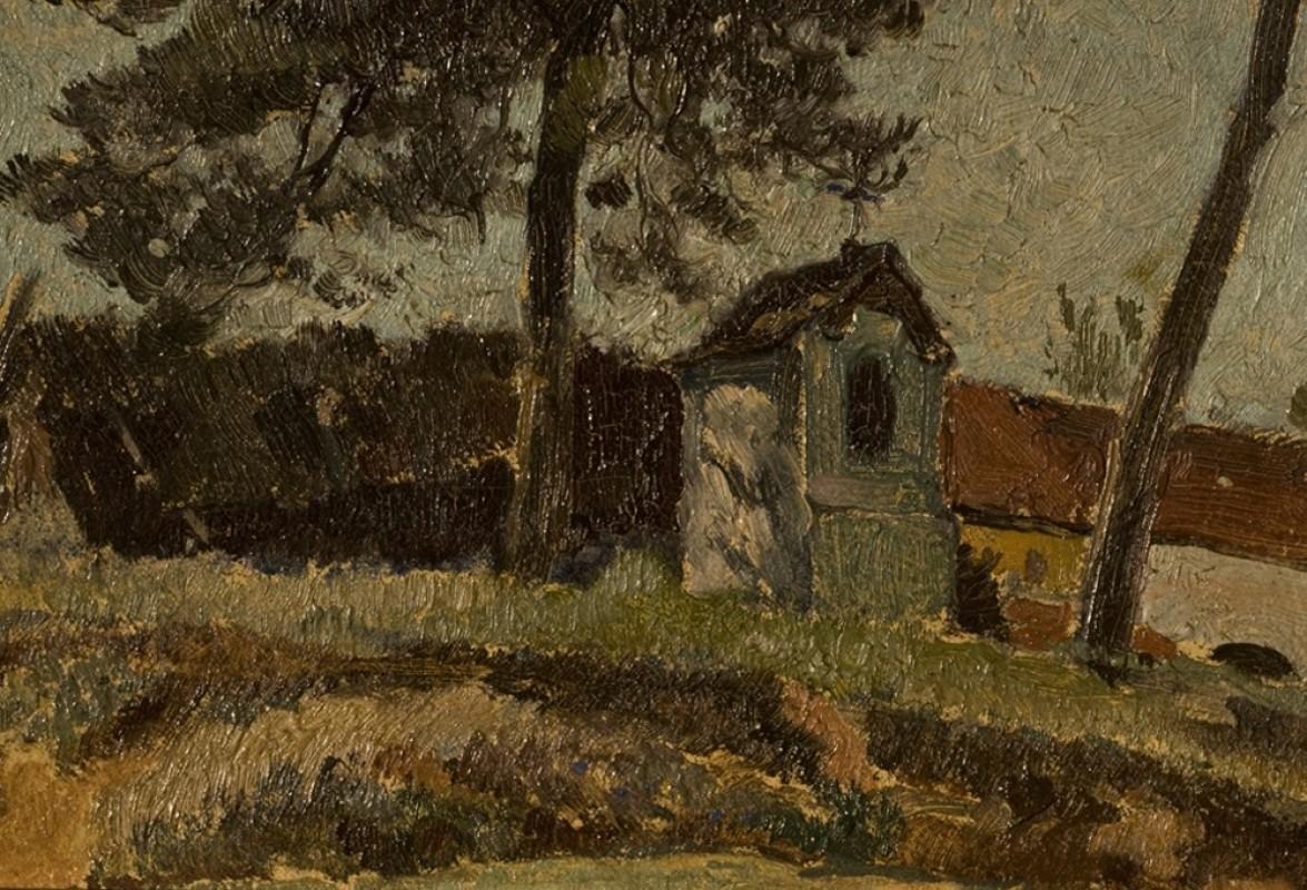 Tableaux Anciens Peinture Sur Toile Ancienne Paysages