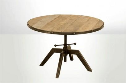 Adjustable Industrial Pedestal - ∅ 80cm