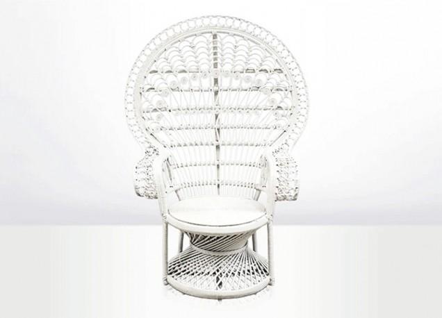 Chaise Emmanuelle blanche