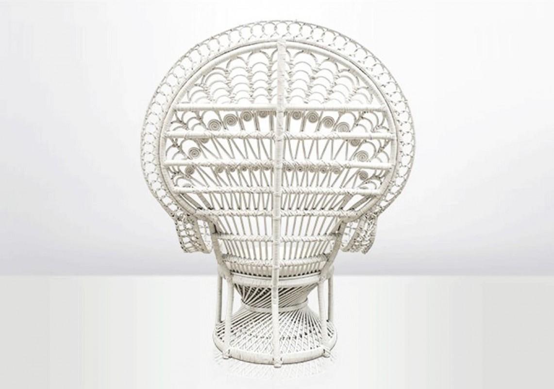 emmanuelle chair white arteslonga. Black Bedroom Furniture Sets. Home Design Ideas
