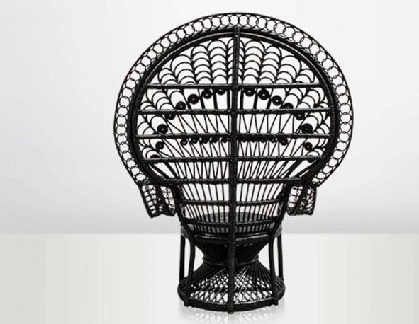Chaise Emmanuelle noire