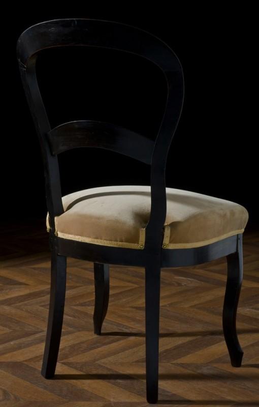 Chaise de cuisine germain lariviere avec for Style chaises anciennes