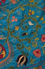 Suzani fabric Uzbekistan