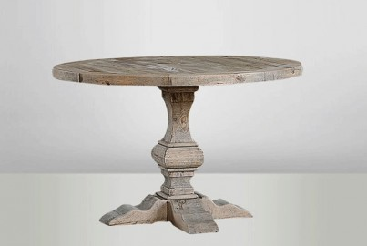 Round Wooden Table - ∅ 120cm