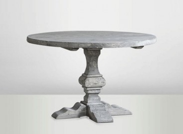 Grey Round Table ∅ 120cm