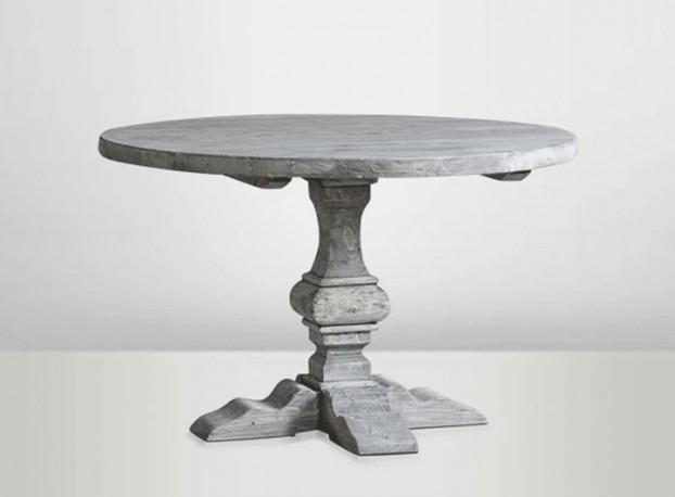 Table Ronde Cendrée  ∅ 120cm