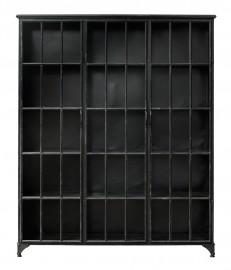 Grande Bibliothèque Ernst noire - H 180 cm