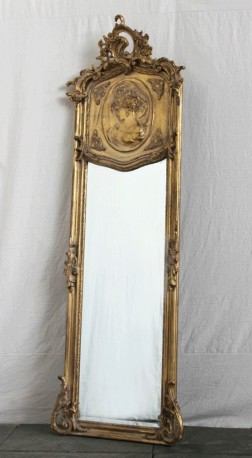 Miroir Nymphe - gauche