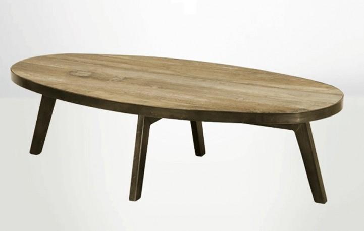grande table basse ovale table basse ovale table basse en bois ovale plateau oval. Black Bedroom Furniture Sets. Home Design Ideas