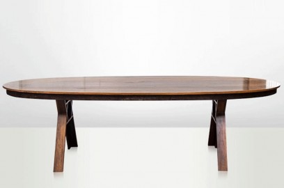 Ironwood Borneo Oval Table