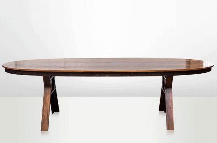 Table Ovale Bornéo 1940
