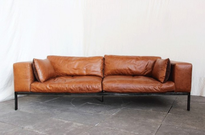 brown leather sofa vintage leather sofa brown vintage sofa vintage sofa brown vintage sofa - Canape Retro