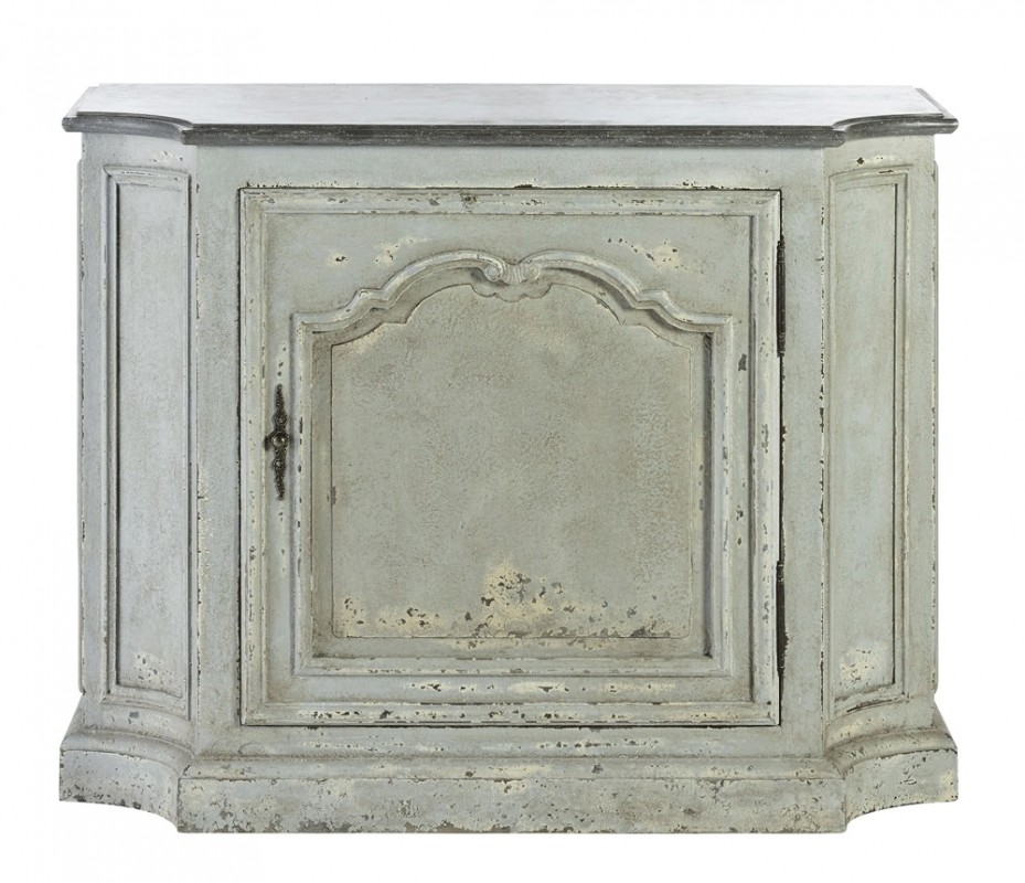 Shabby Chic Cabinet Grey Distressed