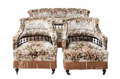 Salon NIII - Banquette et fauteuils