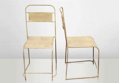 Chaises Vintage en Métal - Lot de 4