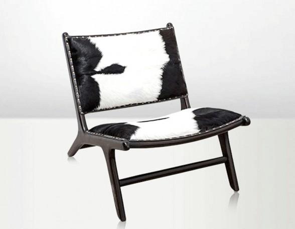 Grande Lounge Large Chaise Cocktail Salon Design Danois Annes 5 1950 Peau Chvre