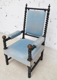 Fauteuil Bleu Napoléon III