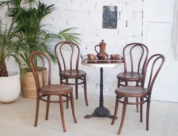 Chaises Thonet - Ensemble de 4