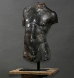 Torse Hermès Statue Grecque  (H 75cm)