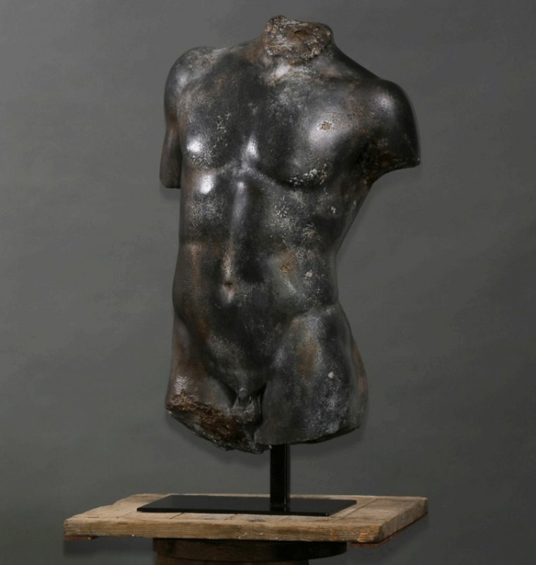 reproduction adaptation greek bust torso statue hermes. Black Bedroom Furniture Sets. Home Design Ideas