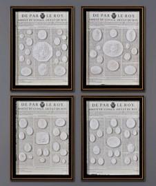Intailles Romaines Antiques - Set de 4