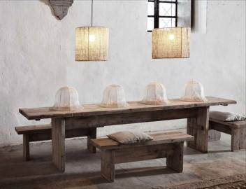Table en bois brut Palazzo
