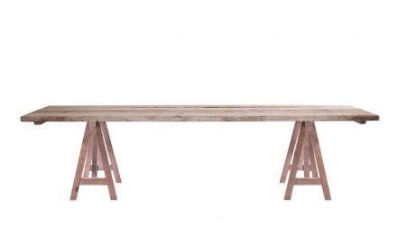 """Table en Bois Brut """"Studiolo"""""""