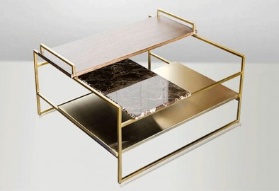 Table basse Rockefeller - 60 cm