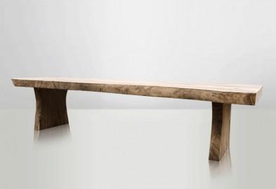 Table de Repas Dolmen en bois de Suar