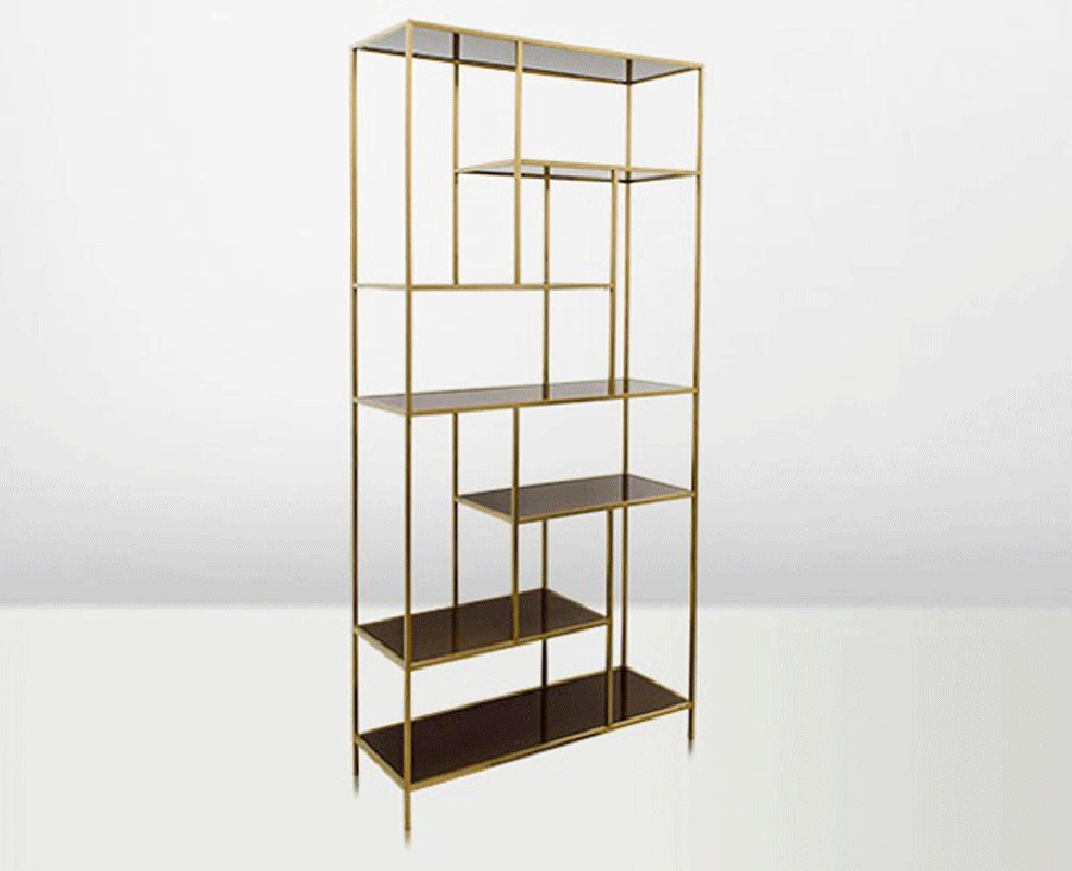 stand with shelves shelf brown arteslonga 2476