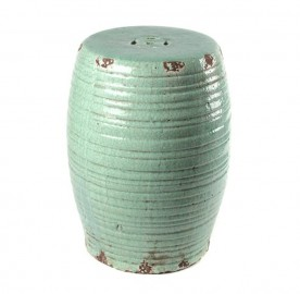 Celadon Glazed Stool