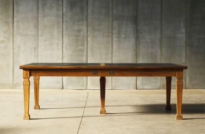 Bureau Cambridge fin XIXeme - 244 cm