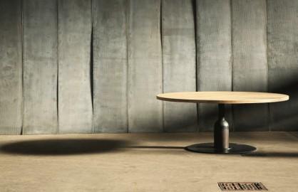 Table Insieme - Chêne & Métal - ∅ 140 cm