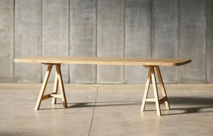 Table de repas en chêne Pablo - 260 cm