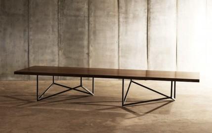 Pythagore Coffee Table - Walnut - 240cm