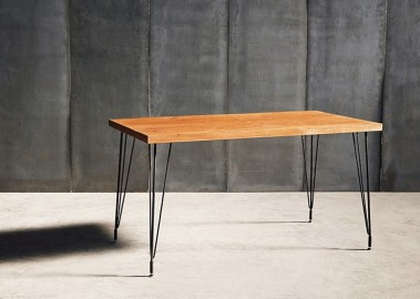 Tango Teck Dining Table - 140 cm