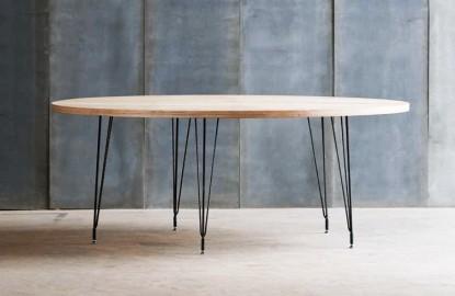 Table Ronde Bois et Métal Tango 160 cm