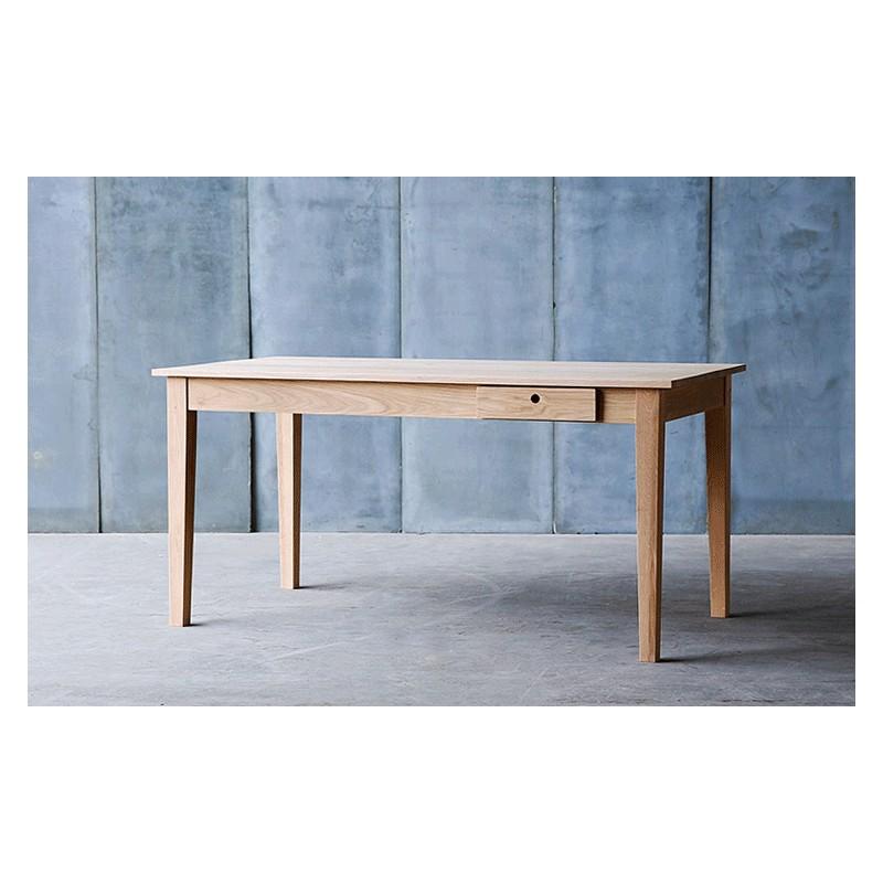 table en ch ne massif gioia 160 cm arteslonga. Black Bedroom Furniture Sets. Home Design Ideas