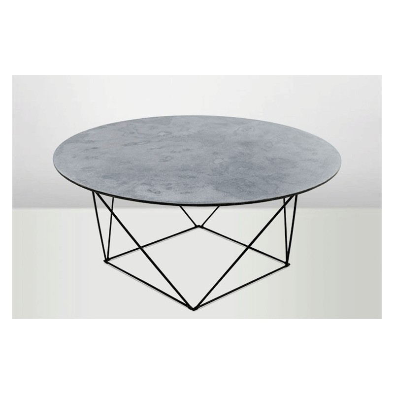 Vintage Round Coffee Table Jelva By Broste Copenhagen: Table Basse Ronde Gigogne. Bureau Beautiful Table Basse