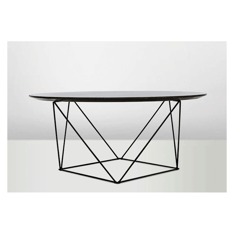 Table basse pythagore ronde arteslonga for Table basse design ronde