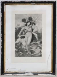 Superb etching 1886