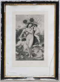 Gravure ancienne 1886