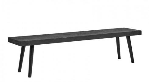 Banc Concrete 180 cm - Noir