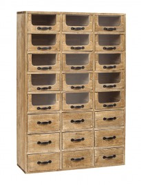 Cabinet en Bois Chemist - 145 cm