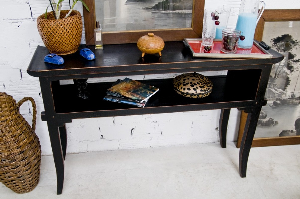 ... Long Chinese Side Table, 1950 Style