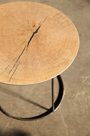 Coffee Table Atole Oak - ∅ 45 cm