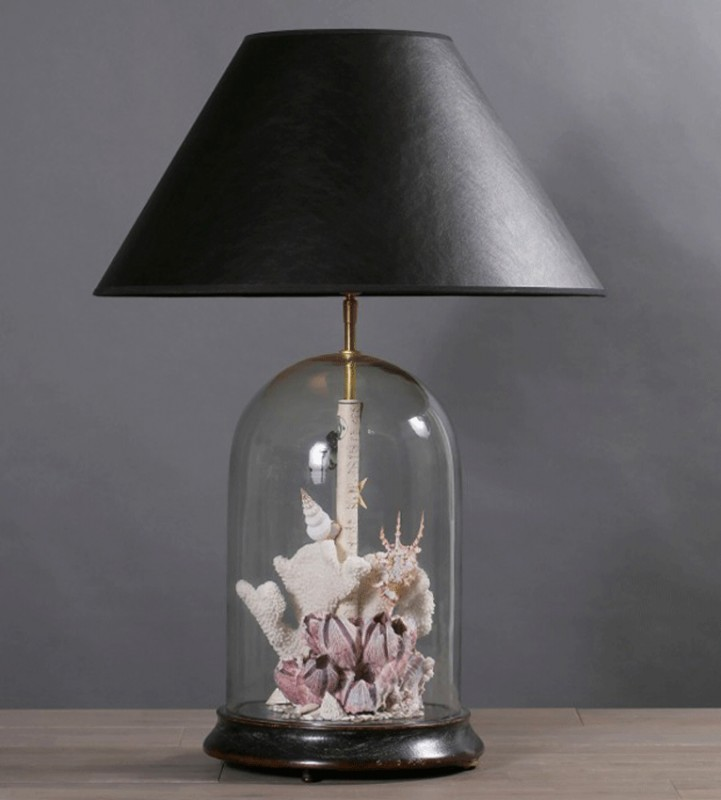 This Lamp Curiosity On The Theme Of The Sea Is Fully