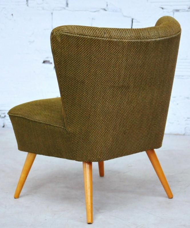 Fauteuil de salon fauteuil cocktail vintage r tro meubles ann es 50 1950 - Fauteuil confortable salon ...