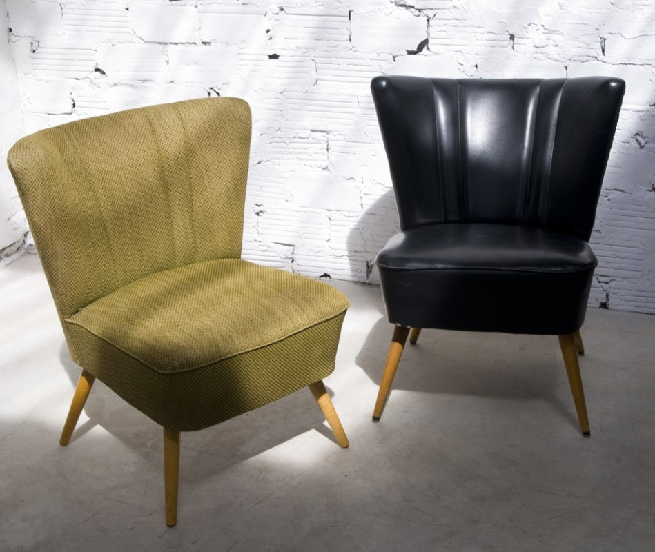 fauteuil de salon fauteuil cocktail vintage r tro. Black Bedroom Furniture Sets. Home Design Ideas