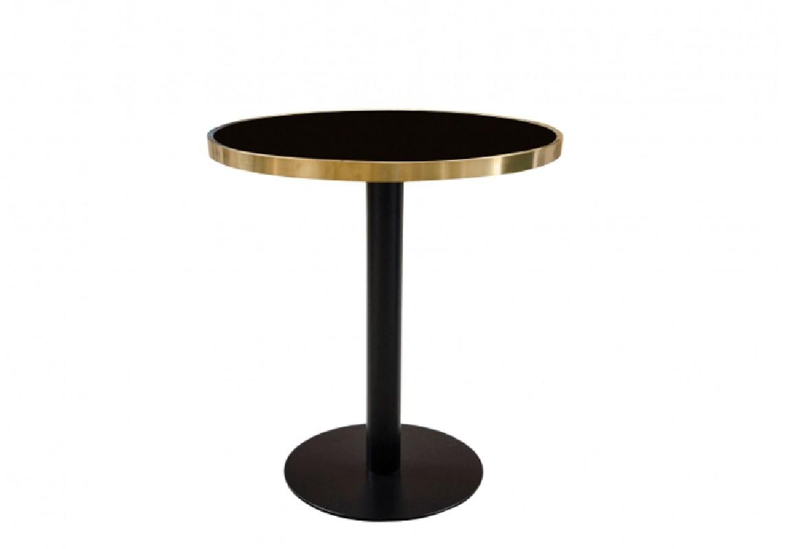 La Table Ronde Cabaret Est Une L Gante Table De Bistro Au Style Moderniste En M Tal Acier Et